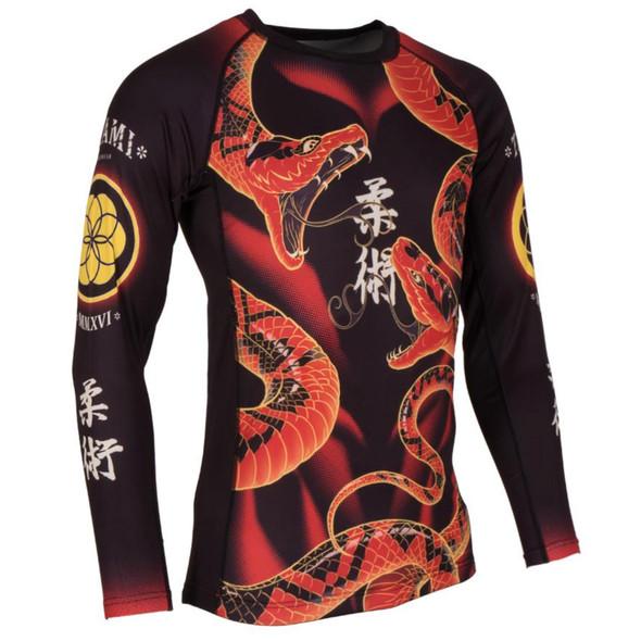 Tatami Duelling Snakes Rashguard