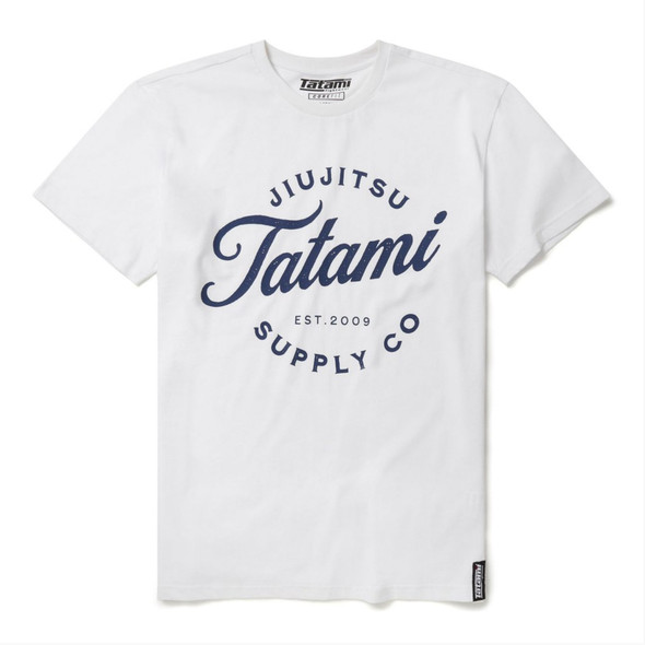 Tatami Classic White Logo T-shirt