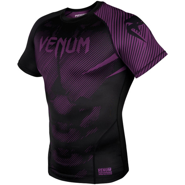 Venum Purple/Black Rash Guard