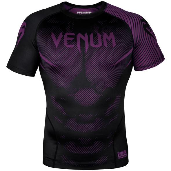 Venum Rashguard Purple/Black