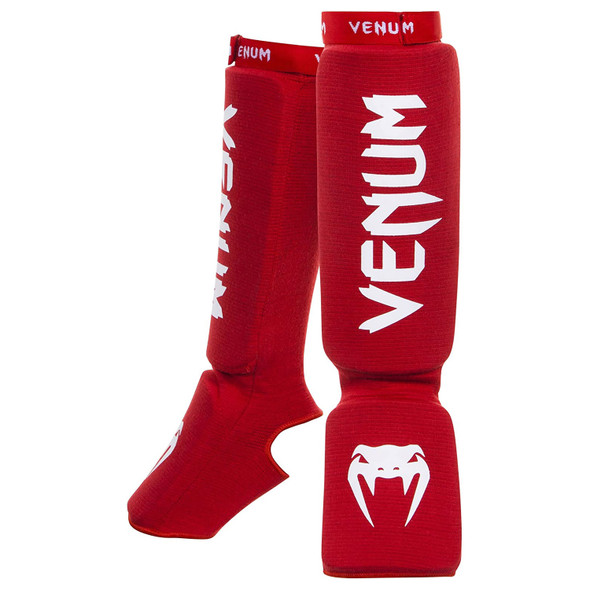Venum Kontact Shin and Instep - Red