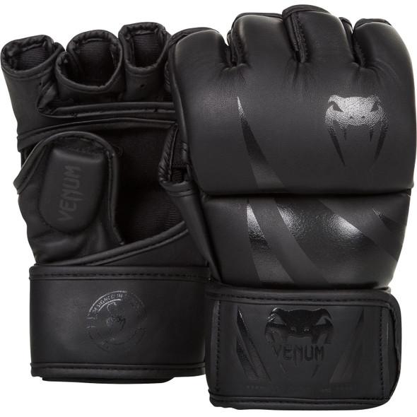 Venum Challenger MMA Gloves (Matte/Black)