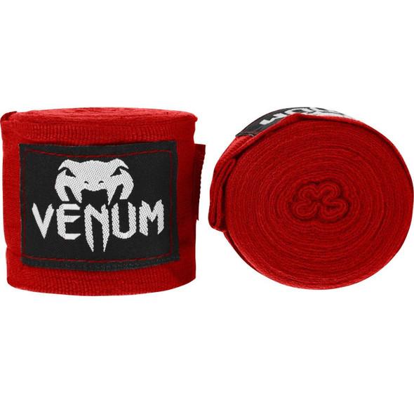 Venum Kontact Boxing Handwraps (Red 4m)