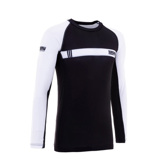Tatami White IBJJF Rash Guard Long Sleeves (XL Only)
