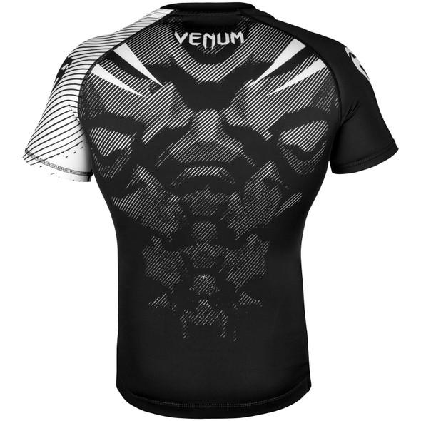 Venum White/Black Rashguard