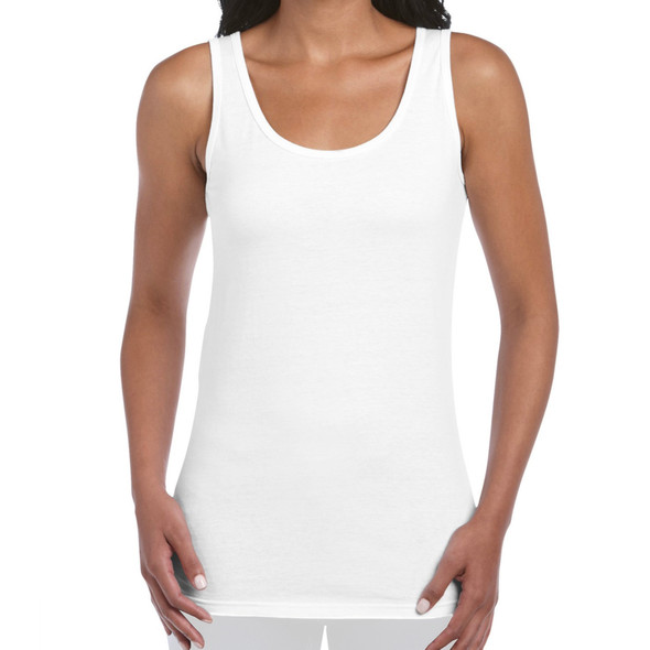 Womens White under-Gi Singlet