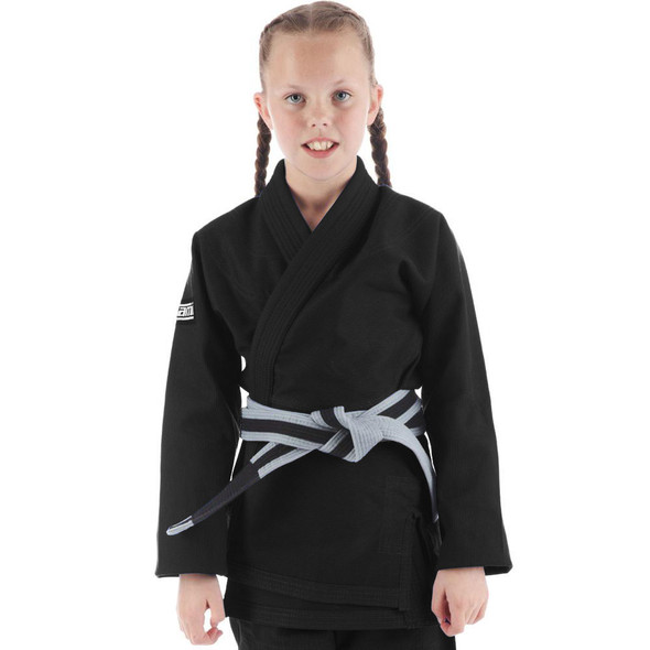 Tatami Roots Kids BJJ Gi (Black)