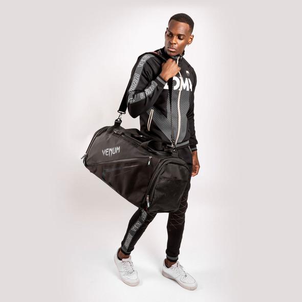 Venum Trainer Lite Evo Sports Bag (Black/Black)
