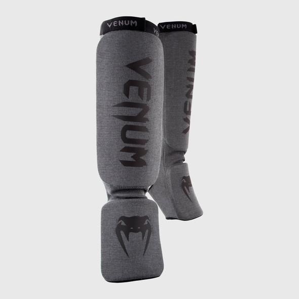 Venum Kontact Shin + Instep Guards (Blk/Grey)