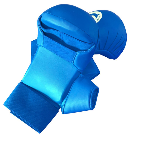 CORE Kumite Mitts w Thumb (Blue) Large