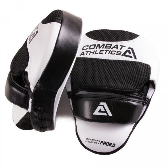 Combat Athletics Pro Series V2 Leather Focus Mitts