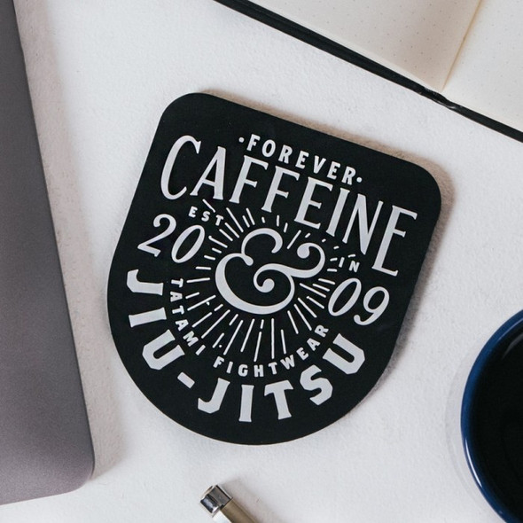 Tatami Caffeine & Jiu Jitsu Coaster