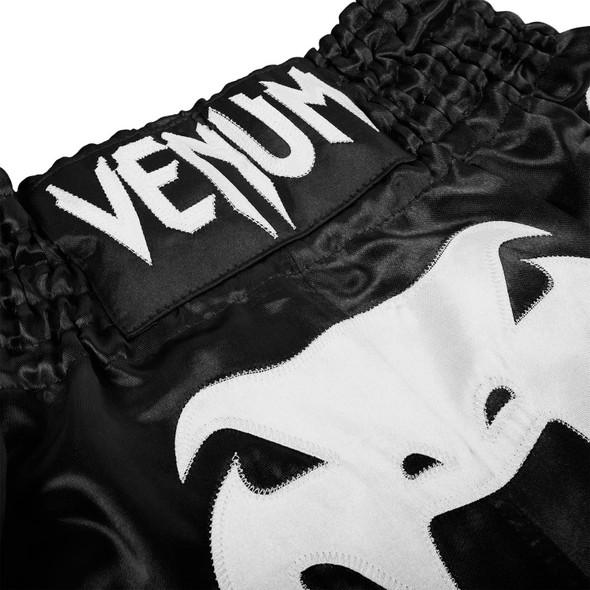 Venum Bangkok Inferno Blk/White Muay Thai Shorts