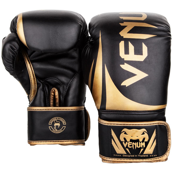 Venum Challenger 2.0 Boxing Gloves (Blk/Gold)