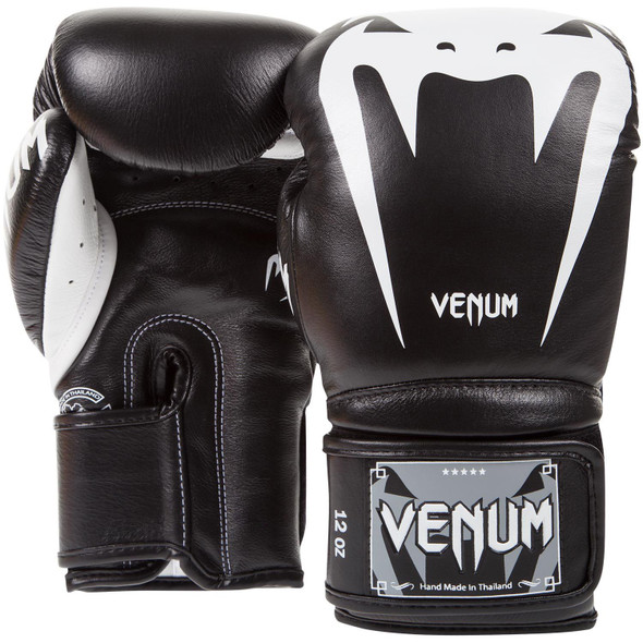 Venum Giant 3.0 Boxing Gloves - Nappa Leather (Black)