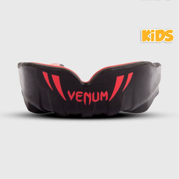 Venum Challenger Kid's Mouthguard (Black/Red)