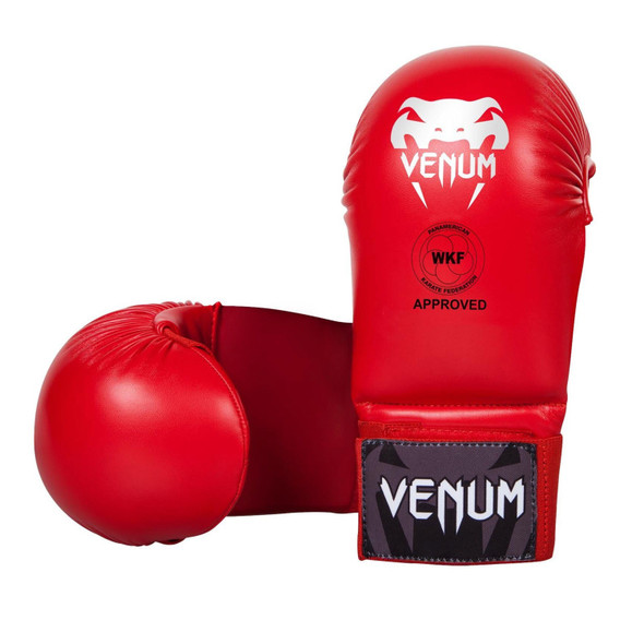 Venum Karate Mitts (Red)