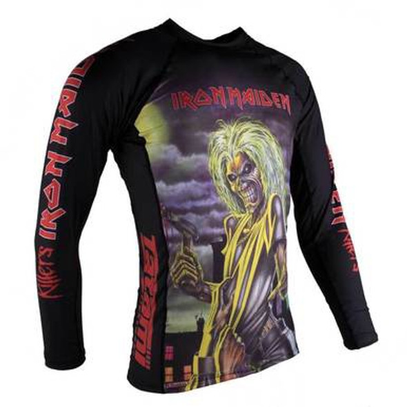 Tatami Iron Maiden Long Sleeve Rash Guard