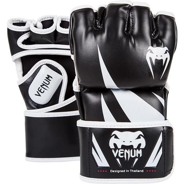 Venum Challenger 4oz MMA Gloves (Blk/White)