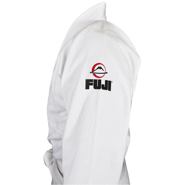 Fuji Sports Single Weave Judo Gi (White)