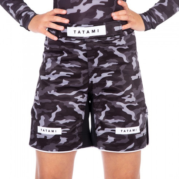 Tatami Rival Kids Camo Fight Shorts