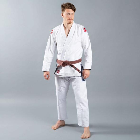 Scramble Athlete BJJ Kimono V4 375 (White)