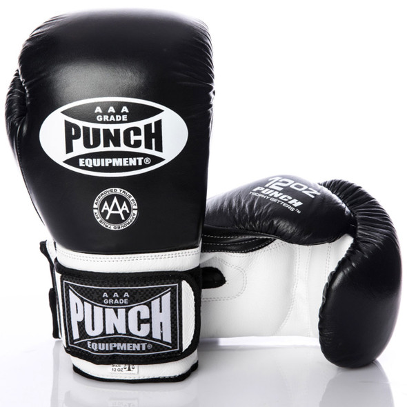 Punch Trophy Getters® Commercial Boxing Gloves (Black)