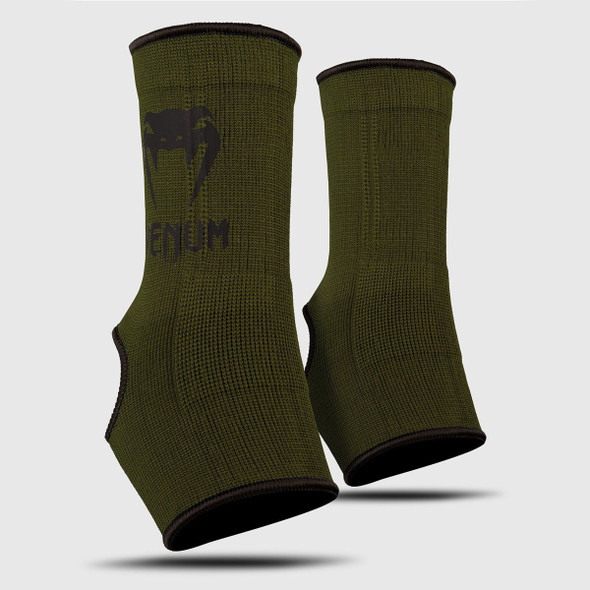 Venum Kontact Ankle Support Guard (Khaki/Black)
