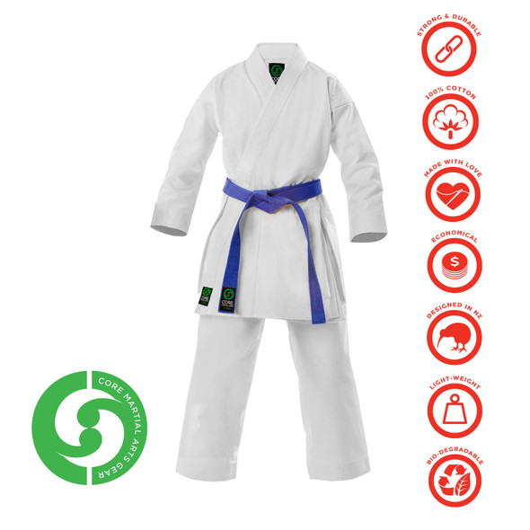 CORE Karate Gi Green Label 10oz