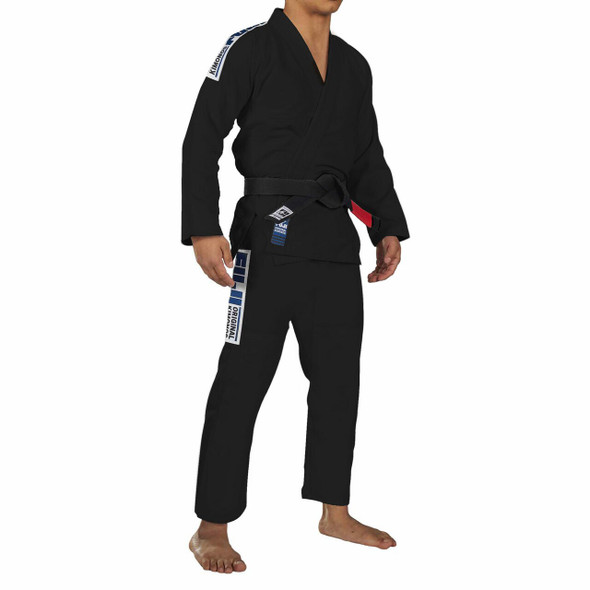 Fuji Sports Baseline BJJ Gi (Black)