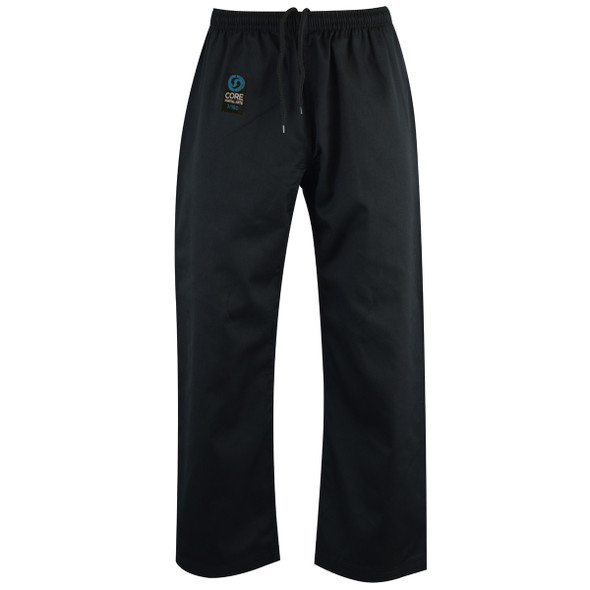 Core Karate Black Pants