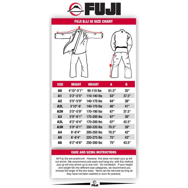 Fuji Lightweight Adult Gi - White