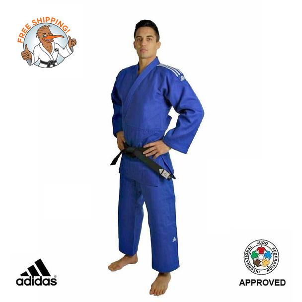 Adidas Judo Uniform - 180cm Rio IJF Competition Gi - Blue