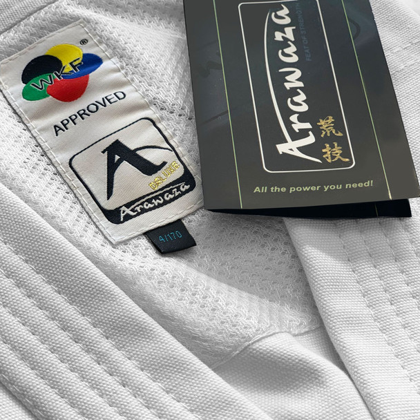 Arawaza Deluxe Kata Uniform WKF approved