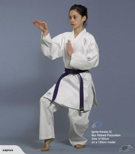 Sapius Ignite 8oz Karate Uniform