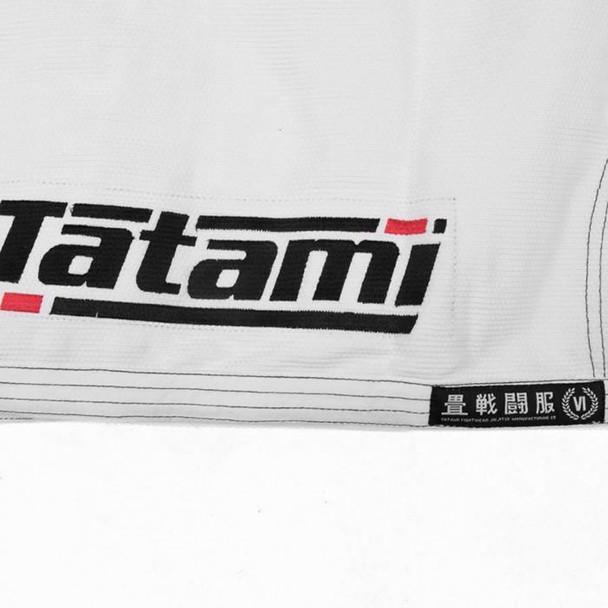 Tatami Estilo 6.0 White & Black BJJ Gi