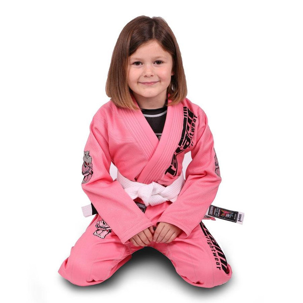 Meerkatsu Pink Kids BJJ Gi