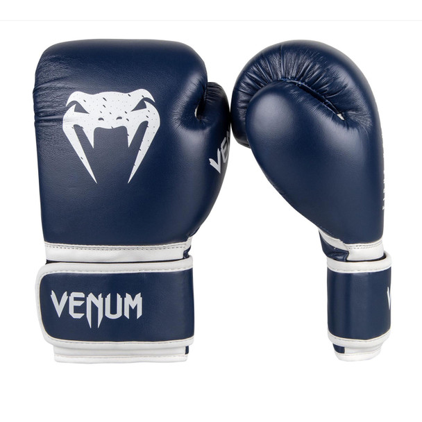 Venum Signature Kids Boxing Gloves (Navy)
