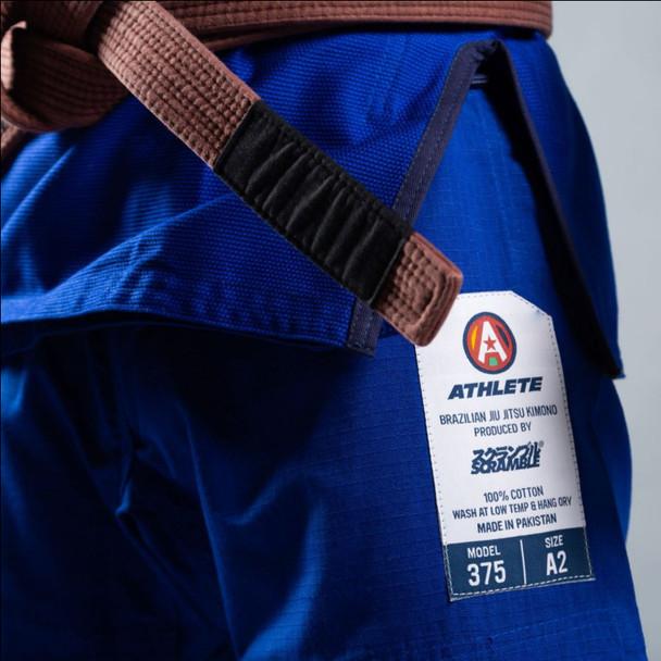 Scramble Athlete BJJ Kimono V4 375 (Blue)