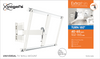 Vogel's THIN 545 ExtraThin Full-Motion TV Wall Mount (White) - 40-65""