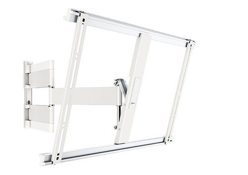 """Vogel's THIN 545 ExtraThin Full-Motion TV Wall Mount (White) - 40-65"""""""