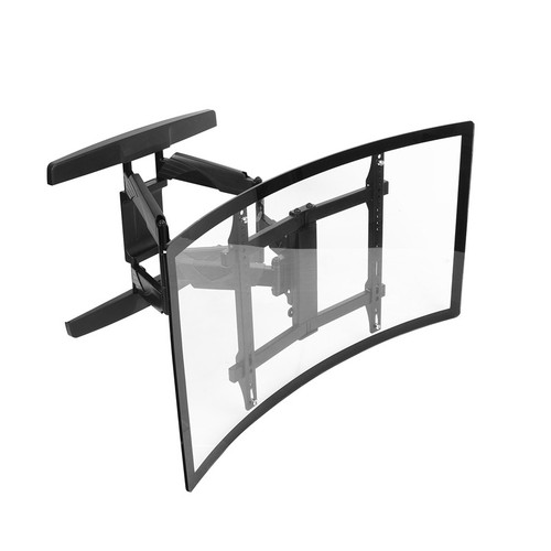 "Curved double arm. Swivel & Tilt. TVs up to 70"". Max VESA 400x400"