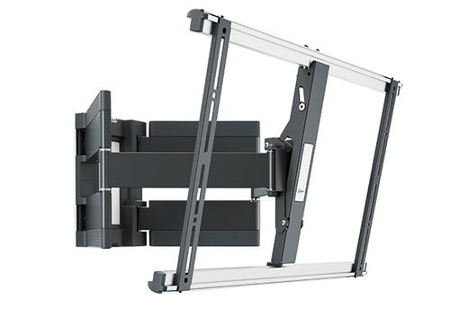 "THIN 550 ExtraThin Full-Motion TV Wall Mount (Black) 40-100"""