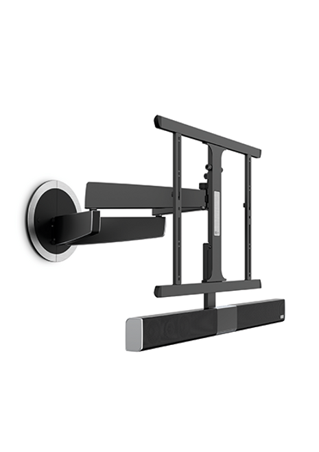 Vogel's MotionSoundMount (NEXT 8375) - the TV wall mount with integrated sound that turns automatically