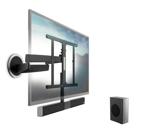 Vogel's SoundMount Full-Motion TV Wall Mount with Integrated Sound
