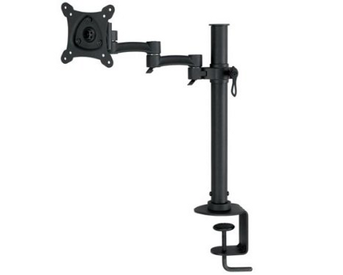 Monitor Cantilever Desk Bracket / Mount by living Images Up To 27""
