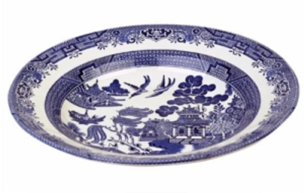 Blue Willow Pasta Bowl