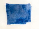 100% CASHMERE WRAP BLUE WASH
