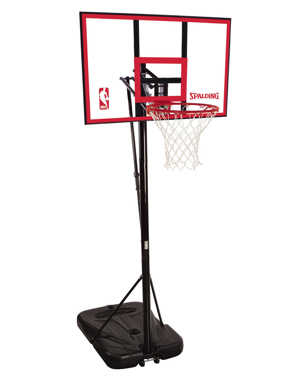 Portable Basketball Hoop Assembly