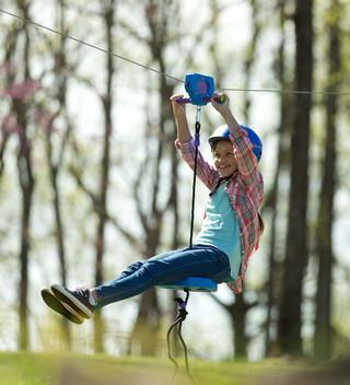 Kids Zipline Kit Installation